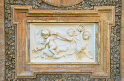 Bass-relief of renaissance period Stock Photos