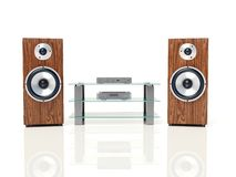 Bass speaker Stock Image
