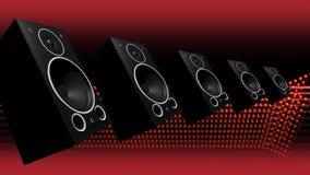 Bass Speakers audio que golpea pesadamente libre illustration