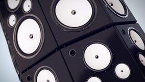 Bass Speakers de battement Images libres de droits