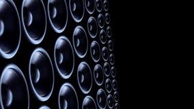 Bass-Sprecherhintergrund stock video footage
