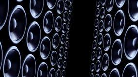 Bass-Sprecherhintergrund stock video