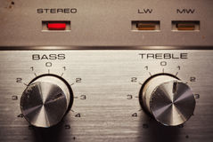 Bass And Treble Control Stock Images