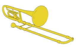 Bass trombone Royalty Free Stock Photo
