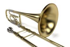 Bass trombone Royalty Free Stock Photos