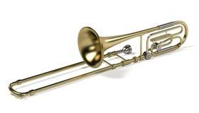 Bass trombone Royalty Free Stock Image