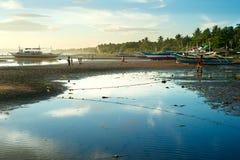 Bassa marea Fotografia Stock