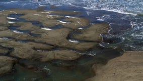 Bassa marea all'estremità delle terre Immagine Stock Libera da Diritti