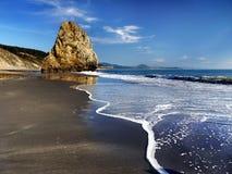 Bassa marea delle scogliere, costa del Pacifico Oregon fotografia stock