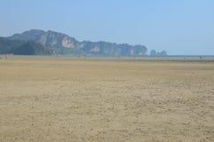 Bassa marea in Krabi, Tailandia Fotografia Stock