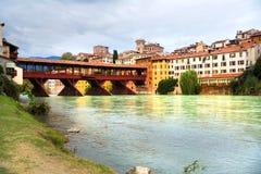 Bassanno del Grappa, Vêneto, Itália Fotos de Stock Royalty Free