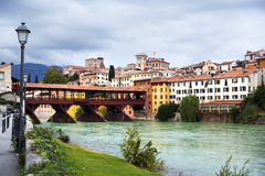 Bassanno del Grappa, Veneto, Italy royalty free stock photos