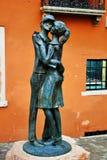"""Bassano del grappa, """"saluto denominato statua al alpini """"e dedicato a loro fotografia stock"""