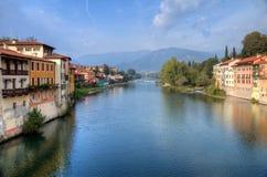 Bassano Del Grappa Brenta River Stock Photos