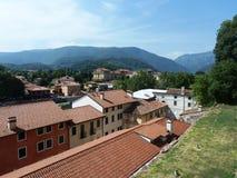 Bassano del Grappa mountains Stock Photo