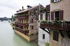 Bassano del Grappa town Royalty Free Stock Image