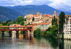 Bassano del Grappa, Veneto, Italy Royalty Free Stock Images