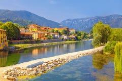 Bassano del Grappa view. Bassano del Grappa city from Italy Stock Photo