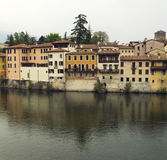 Bassano houses Royalty Free Stock Photography