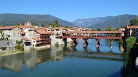 Bassano's bridge Royalty Free Stock Photo