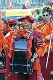 Bassdrummer en el carnaval Imagen de archivo
