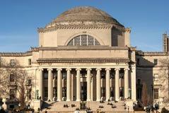 Basse bibliothèque commémorative d'Université de Columbia Photo stock