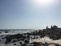 Basse mer cachée Images libres de droits