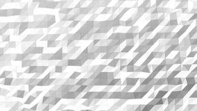 Basse poly haute densité blanche de modèle illustration stock