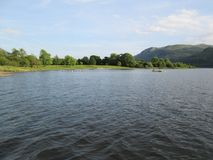 Bassenthwaite湖 库存照片