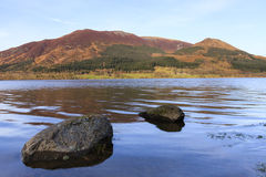 Bassenthwaite jeziora widok Obraz Royalty Free