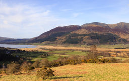 Bassenthwaite Lake View Stock Photo
