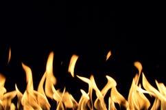 Basses flammes image stock