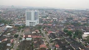 Basses maisons débarquées en Malaisie Images libres de droits