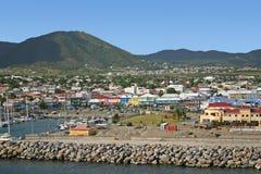 basseterre Kitts ST στοκ εικόνα με δικαίωμα ελεύθερης χρήσης
