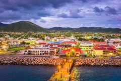 Basseterre, St. Kitts and Nevis Stock Images