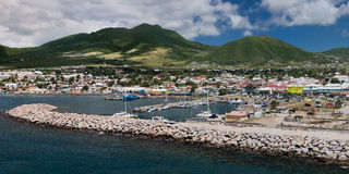 Basseterre, St San Cristobal Foto de archivo libre de regalías