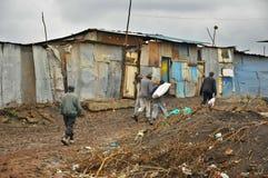 Bassifondi di Nairobi Immagini Stock