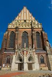 Bassilica ` s St Jackob в Nysa, Польше Стоковое фото RF