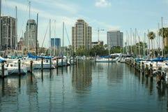Bassin 2 de yacht Photographie stock