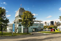 Bassin Bonsecours chalet Royalty Free Stock Photos