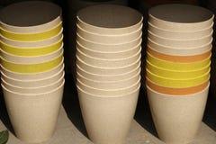Bassin chinois de poterie Image libre de droits