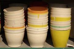 Bassin chinois de poterie Images libres de droits