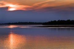 Bassin d'Amazone Photos stock