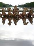 Bassin d Apollon, castello de Versailles (Francia) Fotografia Stock Libera da Diritti