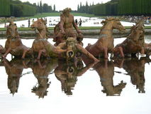 Bassin d Apollon, Chateau de Versailles (France) Royalty Free Stock Photos