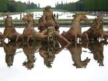Bassin d Apollon, Chateau de Versailles (France) Royalty Free Stock Photos