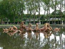 Bassin D Apollon, Chateau de Versailles (Frankrike) Royaltyfria Bilder