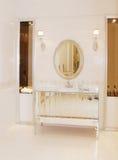 Bassin in de badkamers Royalty-vrije Stock Afbeelding