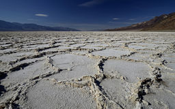 Bassin de Badwater Death Valley, la Californie, Etats-Unis Image stock