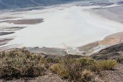 Bassin de Badwater en parc national de Death Valley, la Californie Photographie stock